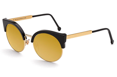 Retro Super Future® - Ilaria Sunglasses Black 24k