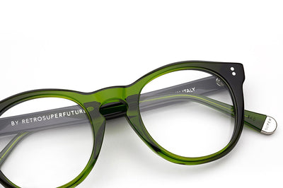 SUPER® by Retro Super Future - Numero 28 Eyeglasses Bottle Green