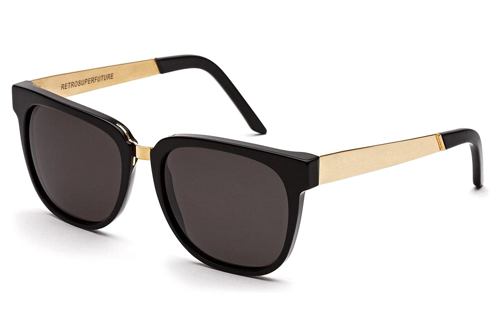 Retro Super Future® - People Sunglasses Francis Black Gold