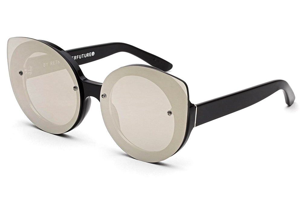 Retro Super Future® - Rita Sunglasses Black Ivory