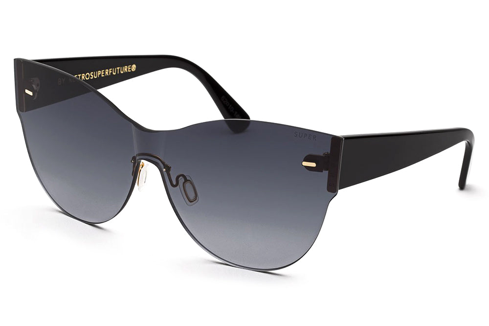 Retro Super Future® - Screen Kim Sunglasses Black
