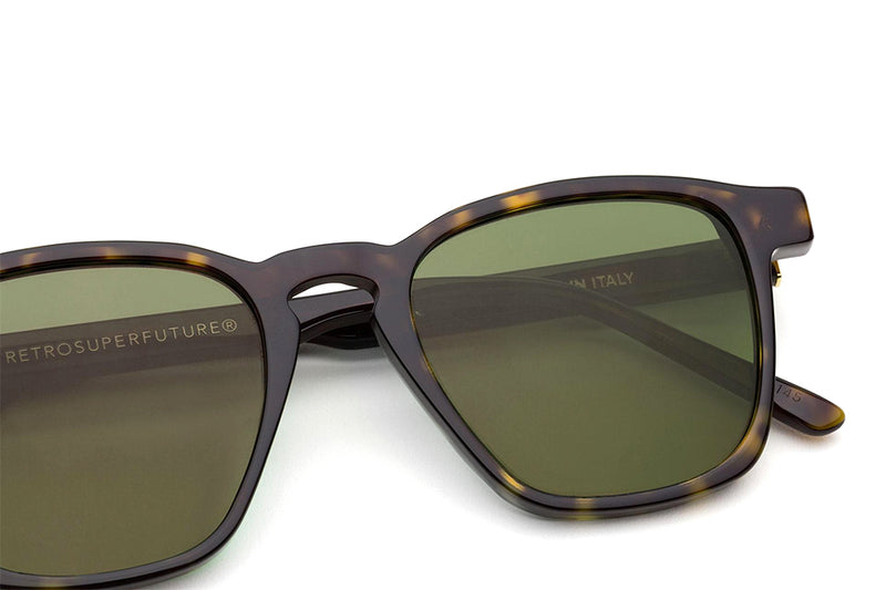 Retro Super Future® - Unico Sunglasses 3627 Green