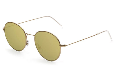 Retro Super Future® - Wire Zero Sunglasses Gold