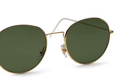 Retro Super Future® - Wire Sunglasses Green