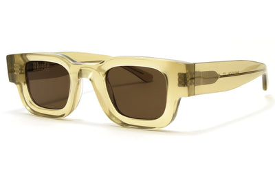 RHUDE x Thierry Lasry - Rhevision Sunglasses Honey w/ Solid Brown Lenses (177)