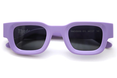 RHUDE x Thierry Lasry - Rhevision Sunglasses Purple with Solid Grey Lenses (813)