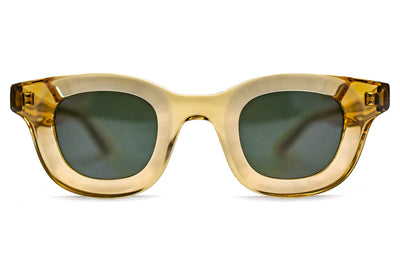 RHUDE x Thierry Lasry - Rhodeo Sunglasses Transparent Honey w/ Flat Green Lenses (656)