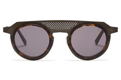 Bob Sdrunk - Rick Sunglasses Burned Dark Brown/Horn