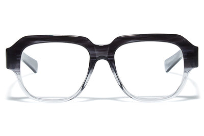 Bob Sdrunk - Rolf Eyeglasses Bob Sdrunk - Rolf Eyeglasses Transparent Striped Black