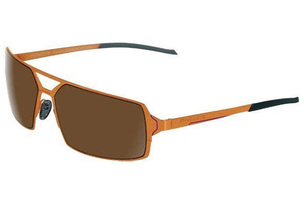 Parasite Eyewear - Scanner 2 Sunglasses Orange-Mauve-Brown Polarized Lens
