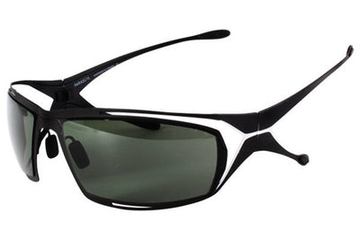 Parasite Eyewear - Vitamine Sunglasses Black-White-G15 Polarized (C10PB)