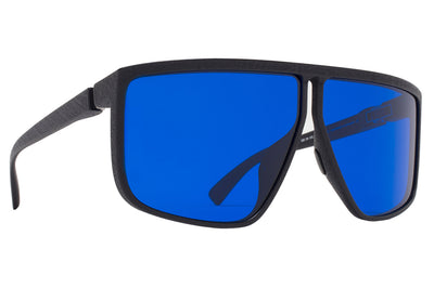 MYKITA + Tim Coppens - Tequilita MD1 - Pitch Black with Navy Shield