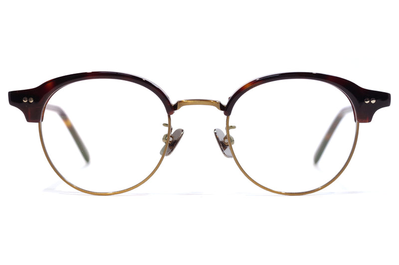 Stancey Ramars - SR-015 Eyeglasses Red Demi - Antique Gold (C2)