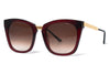 Thierry Lasry - Narcissy Sunglasses Burgundy & Gold (509)