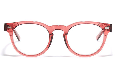 Bob Sdrunk - Tony Eyeglasses Transparent Red