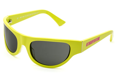 Retro Super Future® - Reed Sunglasses Lime Turbo