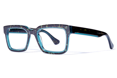 Bob Sdrunk Eyeglasses - Up Tortoise Green