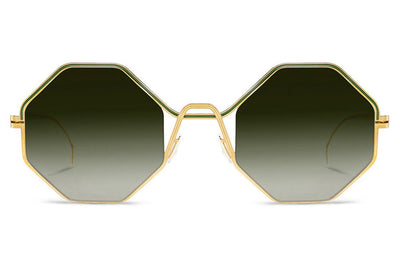 Lool Eyewear - Wallis Sunglasses Champagne Gold