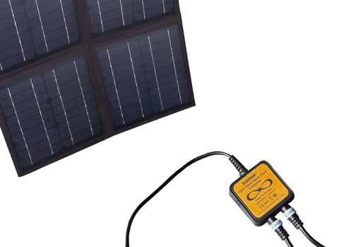 KaliPAK 40-Watt 4X FlexBow Solar Panel with Daisy Chain Connector