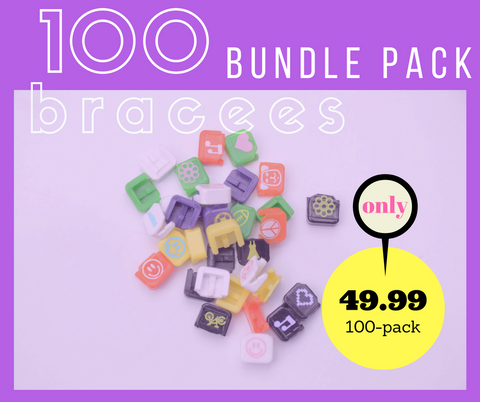 Bracees Bundle Set (100 Bracees)