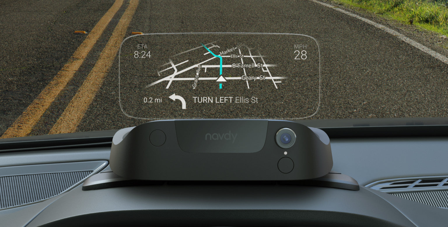 Navdy – Portable Head-Up Display