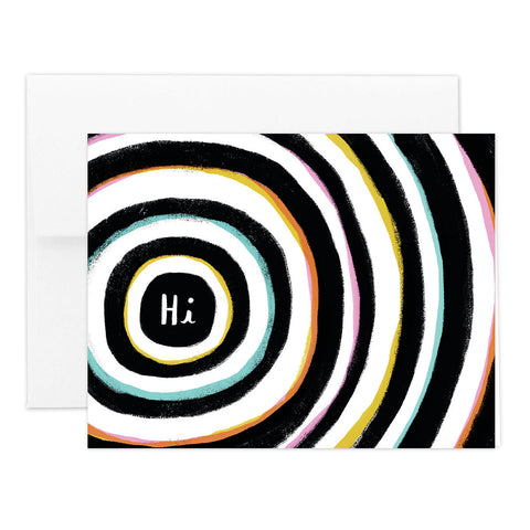 Hi Style Greeting Card