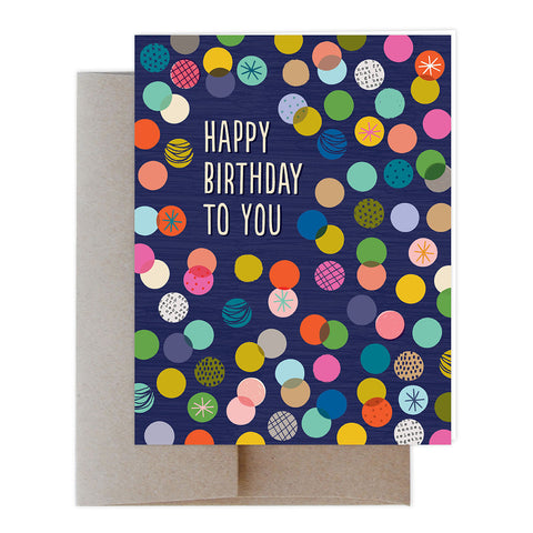 Confetti Toss Greeting Card