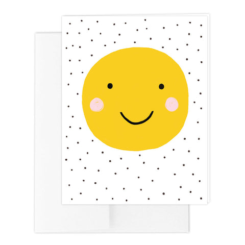 Smiley Happy Greeting Card