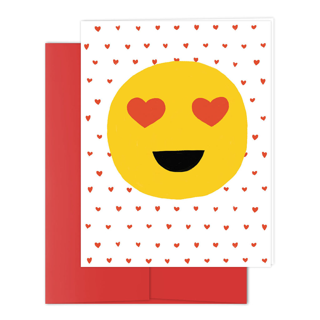 Smiley Love Greeting Card