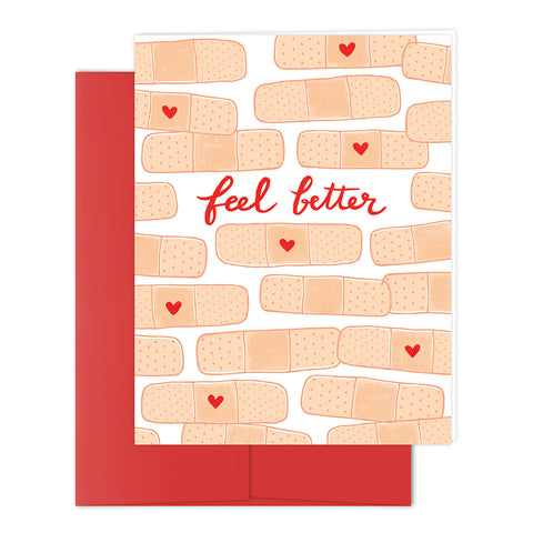 Heart Bandage Greeting Card