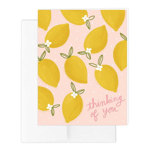 Lemon Toss Greeting Card