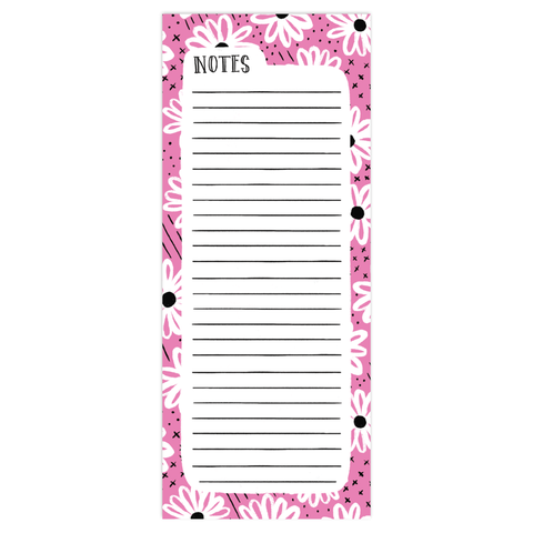 Daisy Day Berry Tall Pad