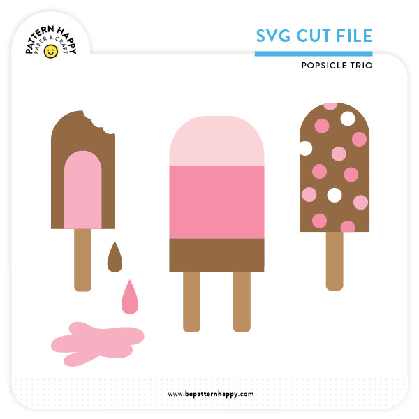 Popsicle Trio | SVG Cut File