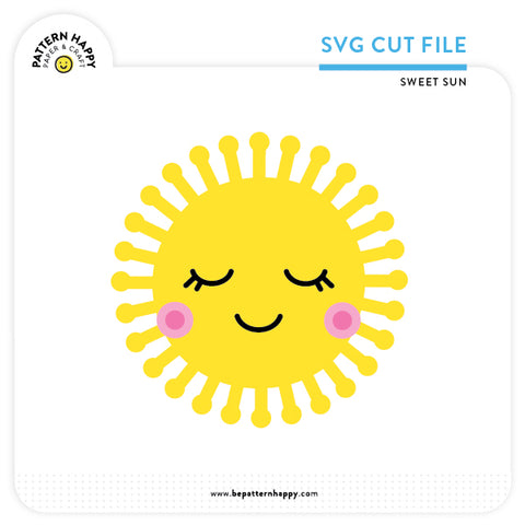 Sweet Sun | SVG Cut File
