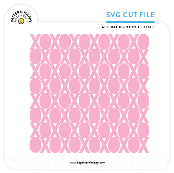 Lace XOXO | SVG Cut File