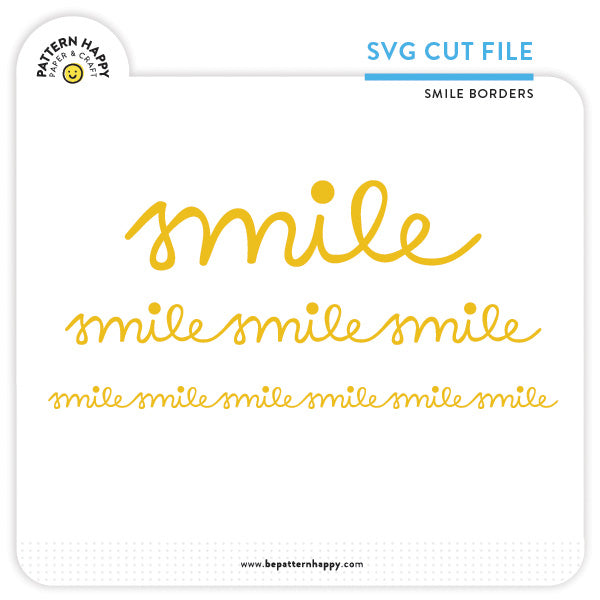 Smile Borders | SVG Cut File
