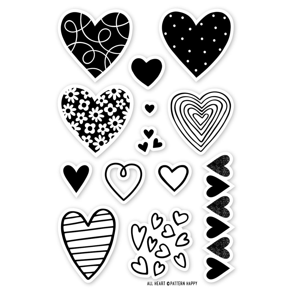 All Heart Clear Stamp
