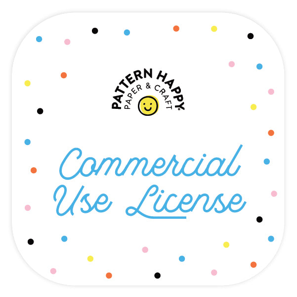 Pattern Happy Commercial License (SVG)