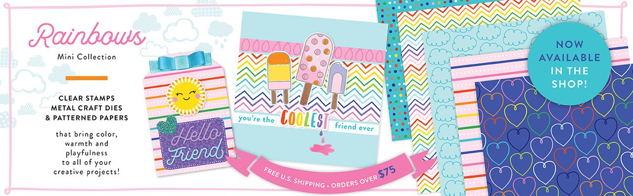 Pattern Happy Rainbows Mini Collection