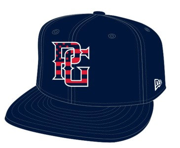 Perfect Game x New Era 9FIFTY Trucker Hat - Patriotic (Navy) - Perfect Game Apparel