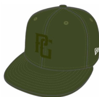 e89e4bcd470 Perfect Game New Era 59FIFTY Hat - Rifle Green