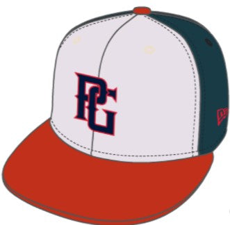 Perfect Game New Era 59FIFTY Hat - Red, White & Blue - PG Apparel