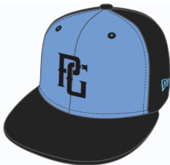 Perfect Game New Era 59FIFTY Hat - Blue & Black - PG Apparel