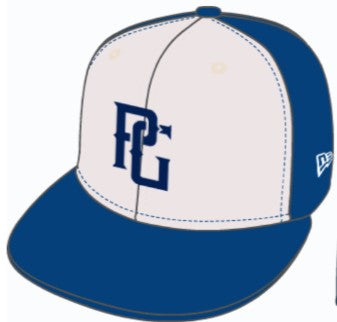 ATL New Era 59FIFTY PG ROYAL_WHITE Diamond Era