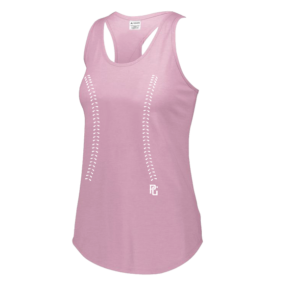 Perfect Game Apparel - Ladies Laces Tri-Blend Tank - PG Apparel
