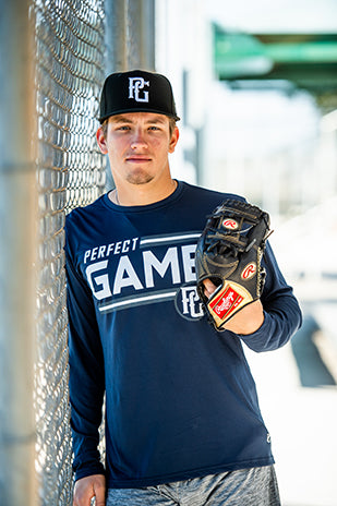 Perfect Game Apparel Player Primary Long Sleeve - Perfect Game Apparel
