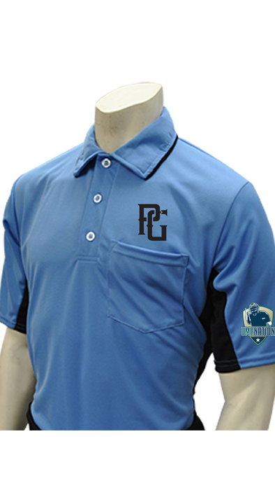 UmpNation Polo - Sky Blue - Perfect Game Apparel