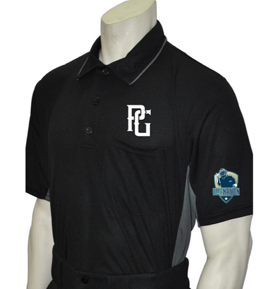 UmpNation Polo - Black - PG Apparel