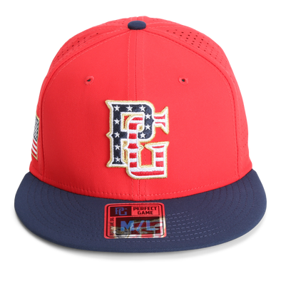 The Hoffman Patriotic - Red - Perfect Game Apparel