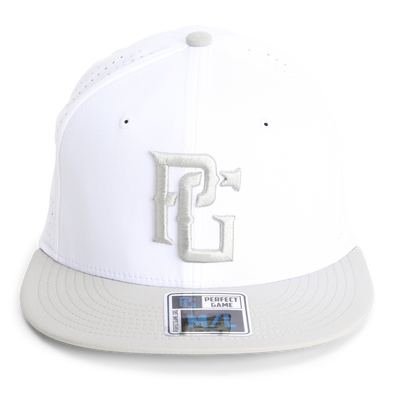 The Hoffman - White/Silver - Perfect Game Apparel